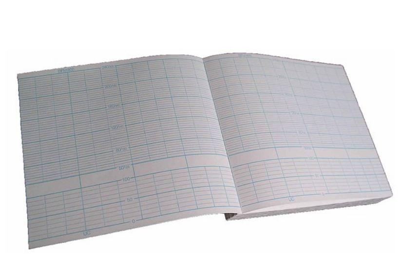 Papel para cardiotocógrafo  BYOSIS, MODELO BFM -800