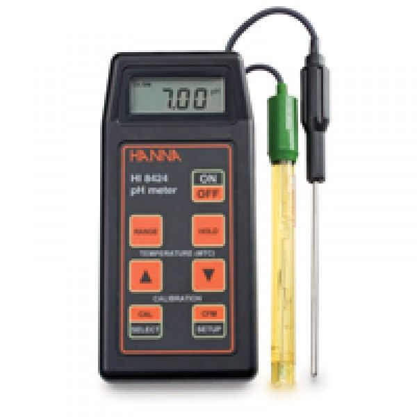 pHmetro digital portatil hanna HI8424