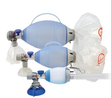 Ressuscitador Oval de Silicone marca Ambu