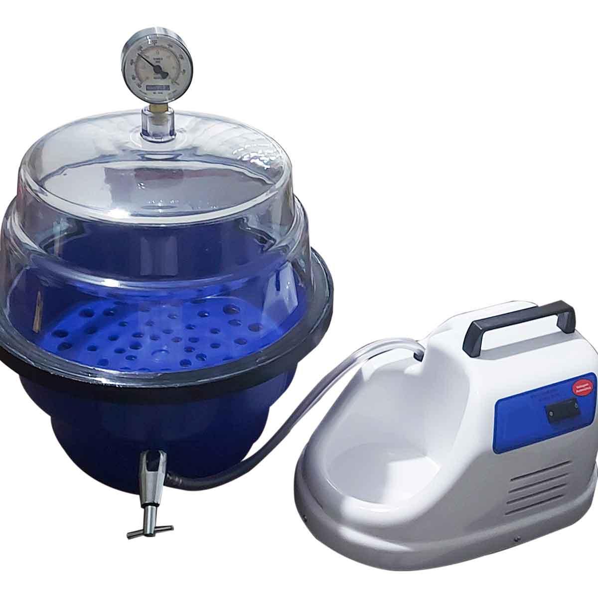 Sistema de vácuo para laboratorio para testes de embalagens
