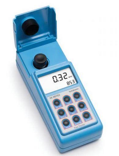 Turbidimetro,  MEDIDOR DE TURBIDEZ CONCORDANTE COM A EPA COM A TECNOLOGIA FAST TRACKER; GAMA 0.00 A 9.99; 10.0 A 99 HI98703- 01