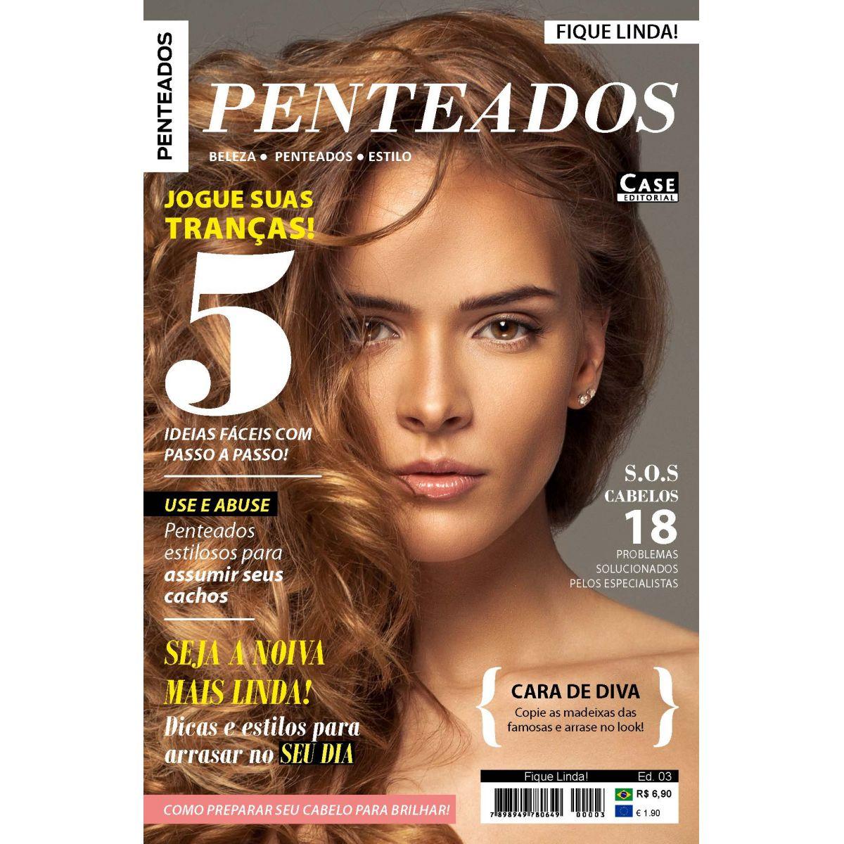 Fique Linda! - Edição 03  - Case Editorial