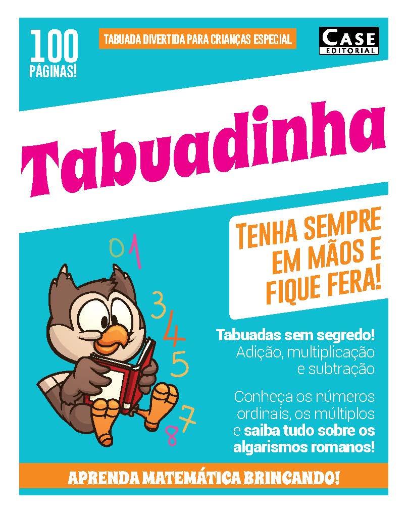 Tabuada Divertida Para Crianças Especial - Edição 01  - EdiCase Publicações
