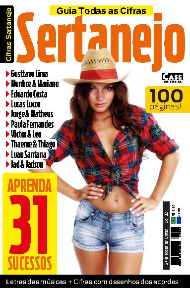 Guia Todas as Cifras - Ed. 02 (Sertanejo)  - Case Editorial