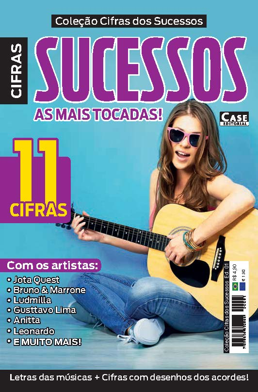 Coleção Cifras dos Sucessos - Edição 01  - EdiCase Publicações