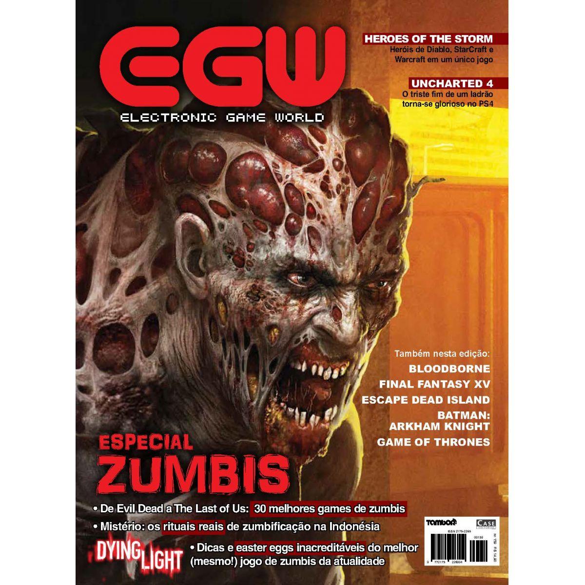 Electronic Game World - Edição 159 - VERSÃO PARA DOWNLOAD  - EdiCase Publicações