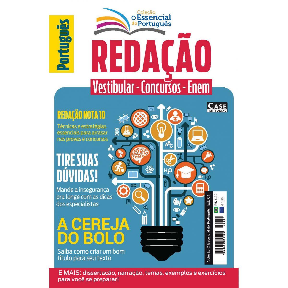 Coleção O Essencial do Português - Edição 01  - EdiCase Publicações