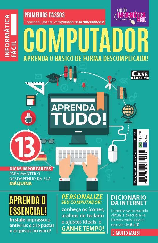 Coleção Informática Fácil - Edição 01  - Case Editorial