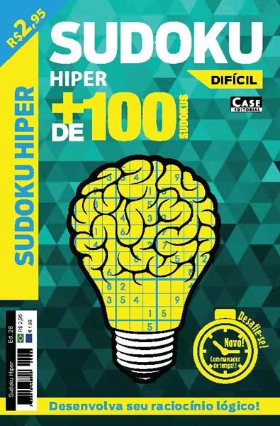 Sudoku Hiper - Edição 28  - EdiCase Publicações