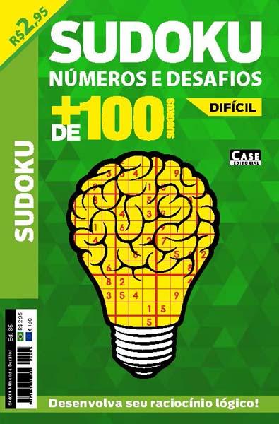 Sudoku Números e Desafios - Edição 85  - Case Editorial