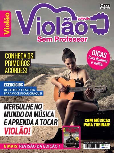 Coleção Violão Sem Professor - Edição 02  - EdiCase Publicações
