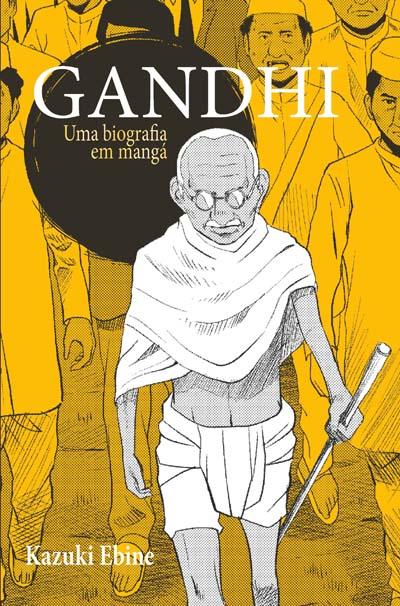Uma Biografia em Mangá - Gandhi - Edição 01  - EdiCase Publicações