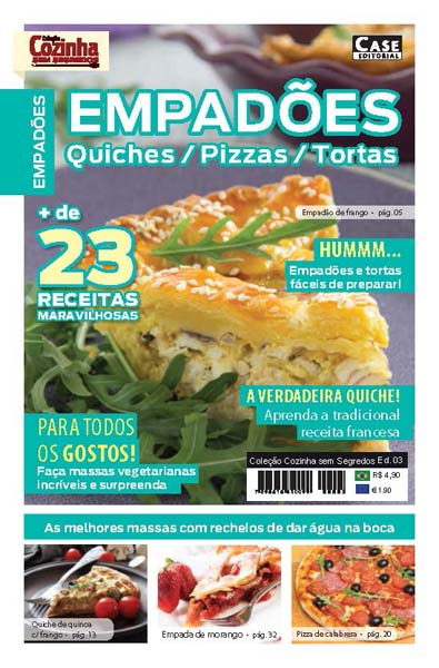 Coleção Cozinha Sem Segredos - Edição 03  - Case Editorial