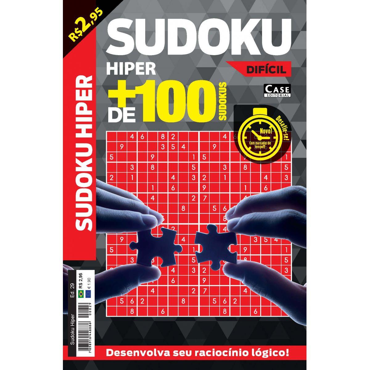 Sudoku Hiper - Edição 29  - EdiCase Publicações