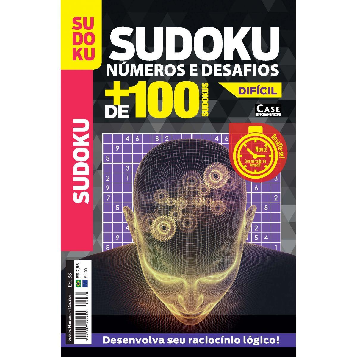 Sudoku Números e Desafios - Edição 88  - Case Editorial