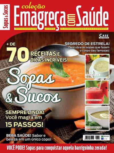 Coleção Emagreça Com Saúde - Edição 03  - Case Editorial