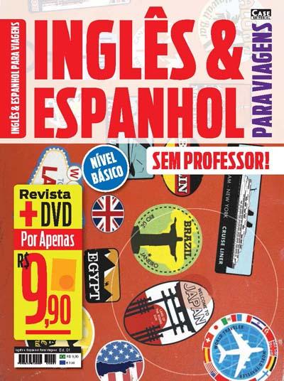 Inglês e Espanhol Para Viagens - Edição 01  - EdiCase Publicações