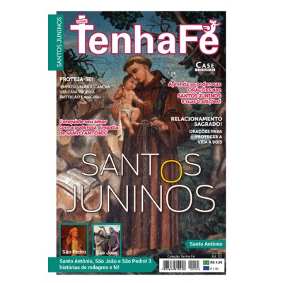 Coleção Tenha Fé Ed. 03 - Santos Juninos - VERSÃO PARA DOWNLOAD (PDF)  - EdiCase Publicações