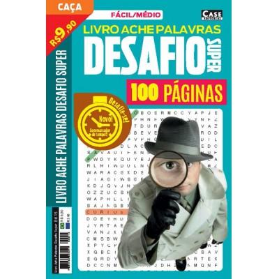 Livro Ache Palavras Desafio Super - Edição 15  - Case Editorial
