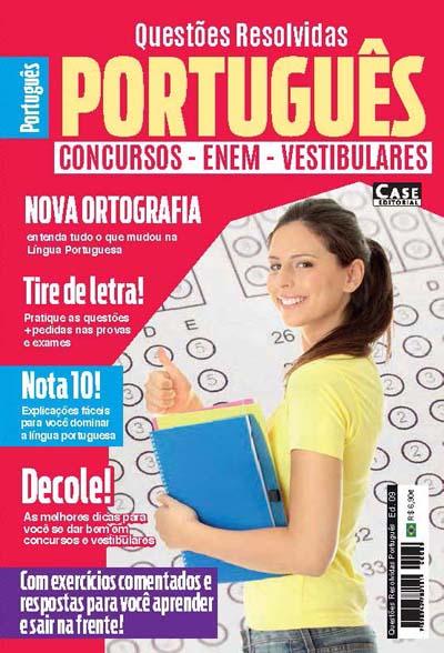 Questões Resolvidas Português - Edição 09  - Case Editorial