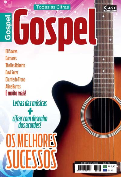 Todas as Cifras - Ed. 28 (Gospel)  - Case Editorial