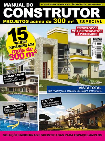 Manual do Construtor Projetos Especial - VERSÃO PARA DOWNLOAD  - EdiCase Publicações
