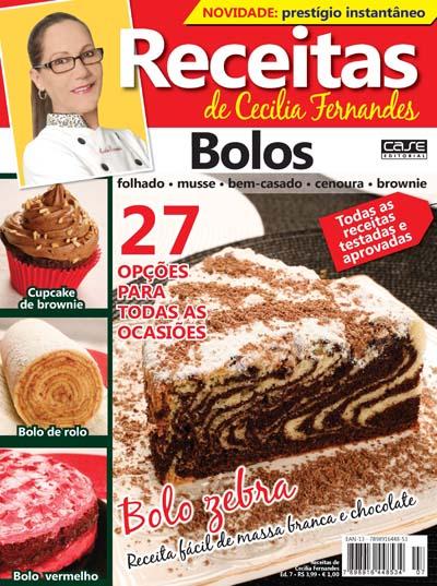 Receitas de Cecilia Fernandes - VERSÃO PARA DOWNLOAD