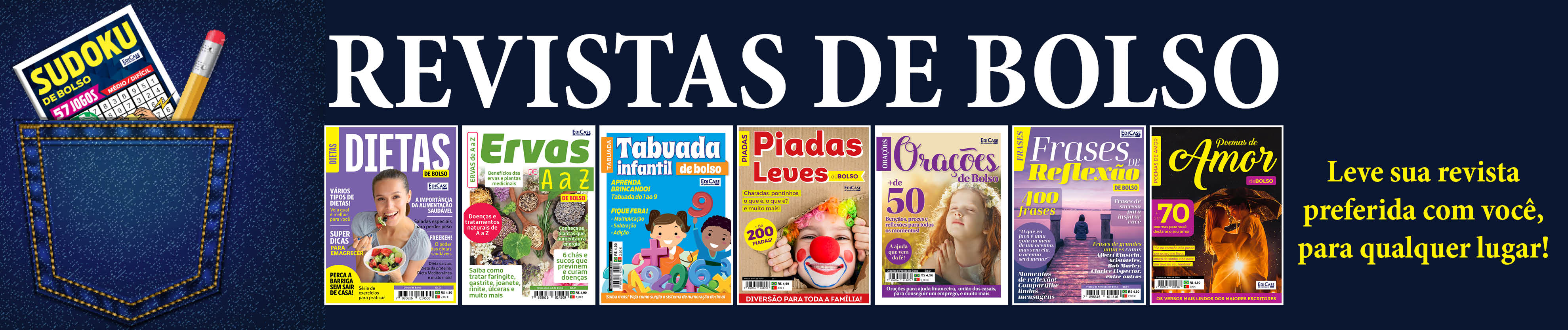 revistas de bolso
