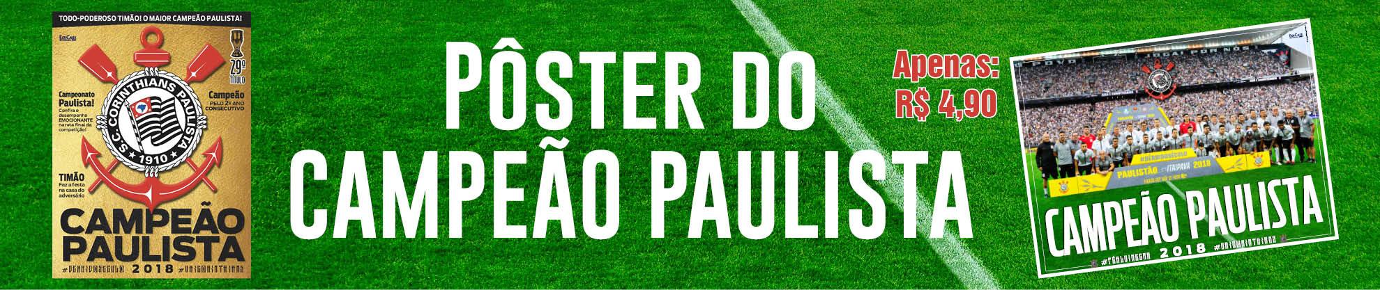 Pôster Paulistão 2018