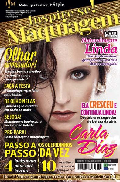 Inspire-se! Maquiagem - Edição 03 - VERSÃO PARA DOWNLOAD  - Case Editorial