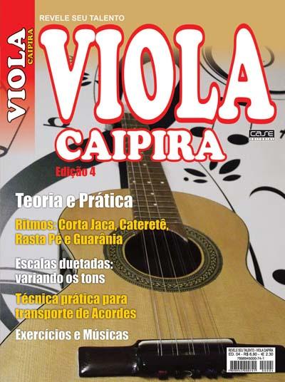 Revele Seu Talento Viola Caipira - Edição 04 - VERSÃO PARA DOWNLOAD  - Case Editorial