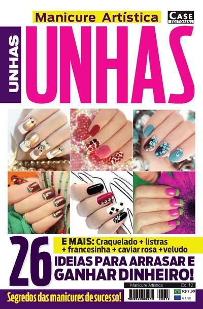 Manicure Artística - Edição 12  - Case Editorial