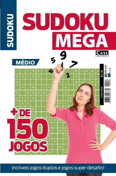 Sudoku Mega - Edição 06  - EdiCase Publicações