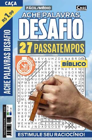Ache Palavras Desafio - Edição 50  - Case Editorial