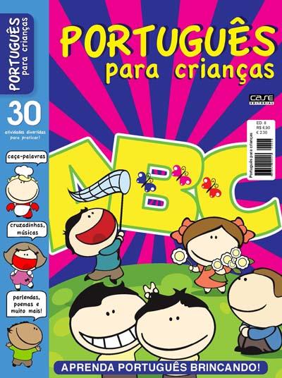 Português para Crianças - Escolha sua Edição - VERSÃO PARA DOWNLOAD E IMPRIMIR  - EdiCase Publicações