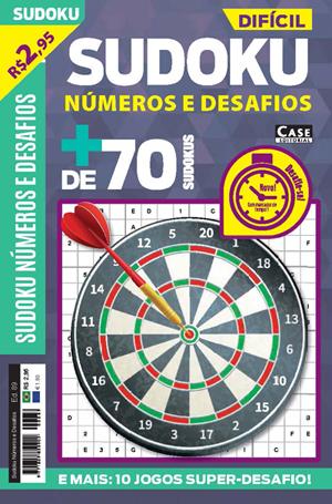 Sudoku Números e Desafios - Edição 89  - EdiCase Publicações