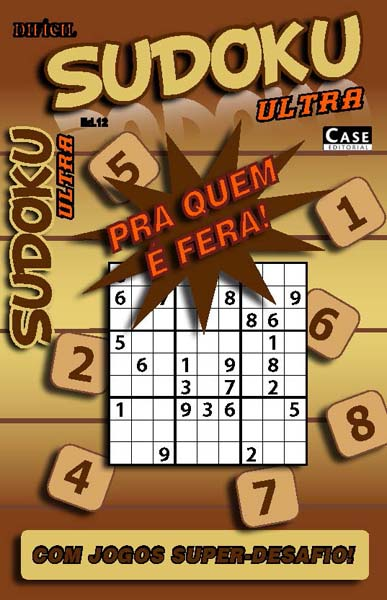 Sudoku Ultra - Edição 12  - EdiCase Publicações