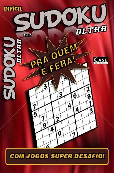 Sudoku Ultra - Edição 10  - EdiCase Publicações