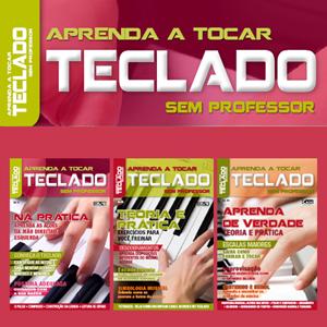 Aprenda a Tocar Teclado Sem Professor - Escolha sua Edição - VERSÃO PARA DOWNLOAD  - EdiCase Publicações