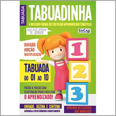 Tabuadinha - Ed. 01  - EdiCase Publicações