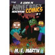 Minecraft Comics: A Lenda de Herobrine - Ed. 01