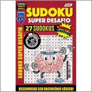 Sudoku Super Desafio Ed. 01 - VERSÃO PARA DOWNLOAD (PDF) e IMPRIMIR - Muito Difícil - Só Jogos 16x16 Super Desafio Com Letras e Números
