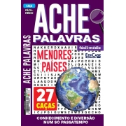 Ache Palavras Ed. 203 - Fácil/Médio - Menores Países