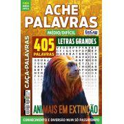Ache Palavras Ed. 70 - Médio/Difícil - Letras Grandes - Tema: Animais em Extinção