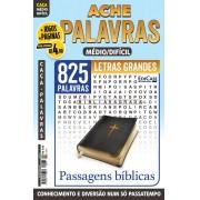 Ache Palavras Ed. 75 - Médio/Difícil - Letras Grandes - Passagens Bíblicas