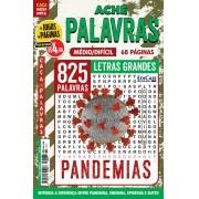 Ache Palavras Ed. 76 - Médio/Difícil - Letras Grandes - Pandemias
