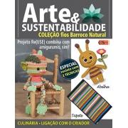 Arte e Sustentabilidade Ed. 25 - Amigurumis: Tineas e Abelha * PRODUTO DIGITAL (PDF)