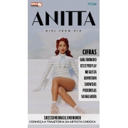 Cifras Dos Sucessos Ed. 23 - Anitta - Girl From Rio -  *PRODUTO DIGITAL (PDF)