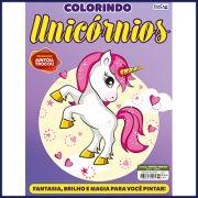 Colorindo Unicórnios Ed. 01 - Pôster Para Colorir