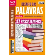 Desafio das Palavras Ed. 04 - Difícil - Tema: Literatura Brasileira
